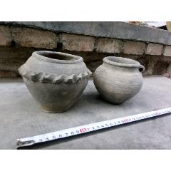 灰陶罐2個(au25443936)_7788舊貨商城__七七八八商品交易平臺(7788.com)