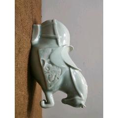 江西景德鎮青瓷馬。陶瓷瓷器精品。雕塑瓷動物瓷藝術瓷。(au25445265)_7788舊貨商城__七七八八商品交易平臺(7788.com)