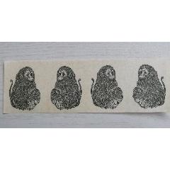 猴票雕刻版印樣4猴一張(au25458059)_7788舊貨商城__七七八八商品交易平臺(7788.com)