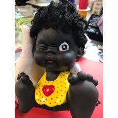 八十年代老玩具娃娃小黑人存錢罐(au25470764)_7788舊貨商城__七七八八商品交易平臺(7788.com)