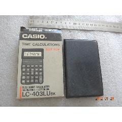 CASIO卡西歐LC-403LUbk計算器,原裝盒【018】(au25475170)_7788舊貨商城__七七八八商品交易平臺(7788.com)