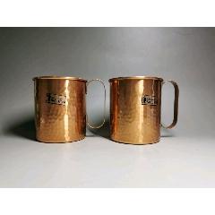 回流,純銅杯一對,品如圖,手工錘紋546F總重0.30kg(au25480147)_7788舊貨商城__七七八八商品交易平臺(7788.com)