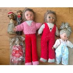 (春節快樂)80年代懷舊老膠皮娃娃玩具合拍(au25486793)_7788舊貨商城__七七八八商品交易平臺(7788.com)