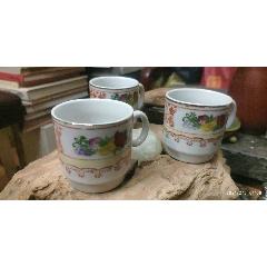 老手繪茶杯3個(au25490488)_7788舊貨商城__七七八八商品交易平臺(7788.com)