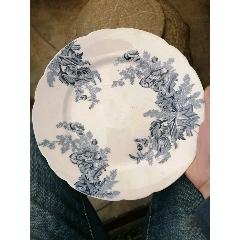民國時期法國人在滇越鐵路上用的瓷盤(au25492487)_7788舊貨商城__七七八八商品交易平臺(7788.com)
