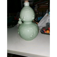 豆青葫蘆酒瓶(au25494646)_7788舊貨商城__七七八八商品交易平臺(7788.com)