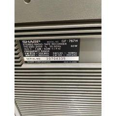 夏普GF767H收錄機-¥1,681 元_三用機/錄音設備_7788網