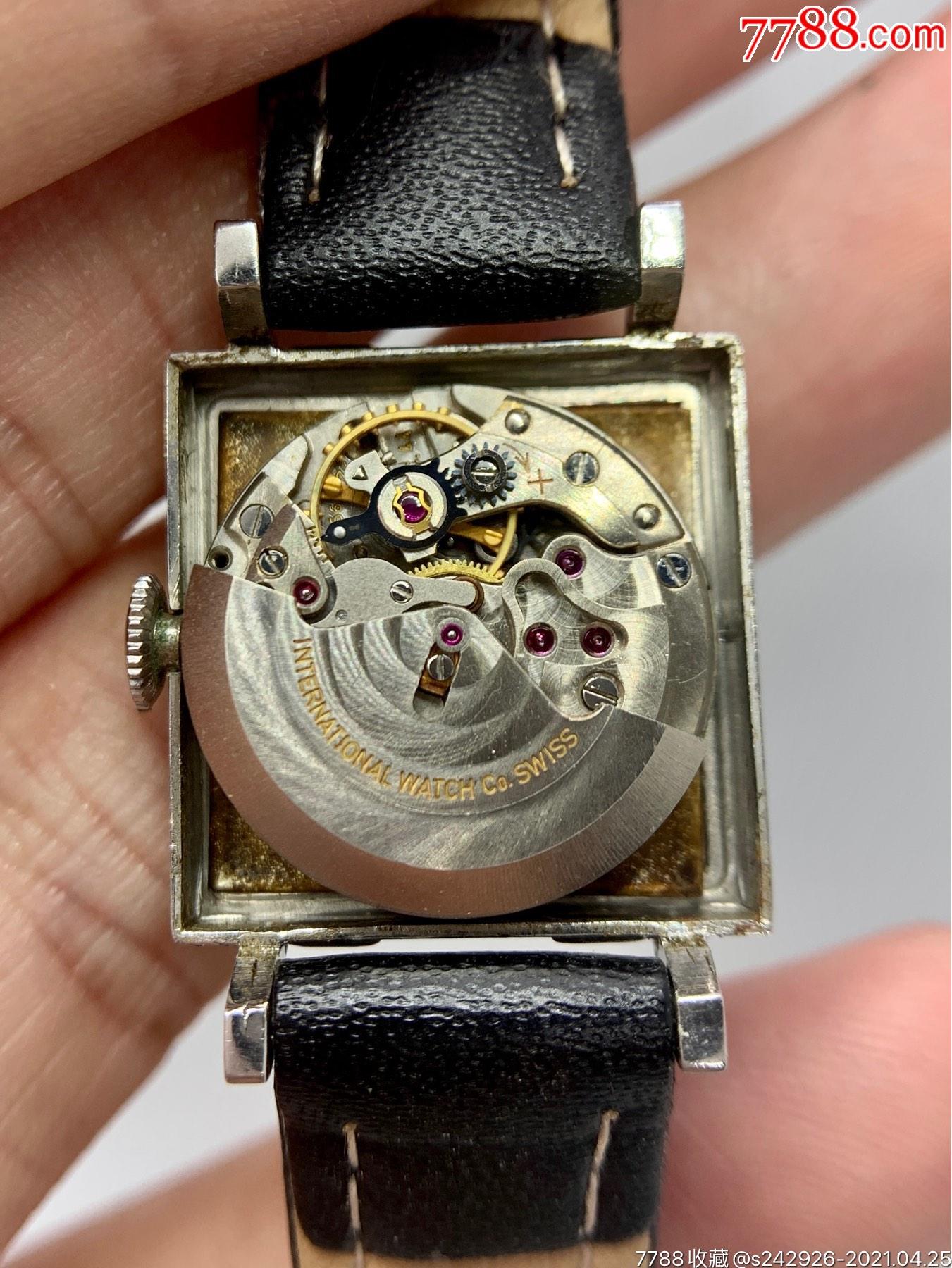 【萬國iwc】全自動機械手表雙金頭啄木鳥機芯_價格1039元_第5張_
