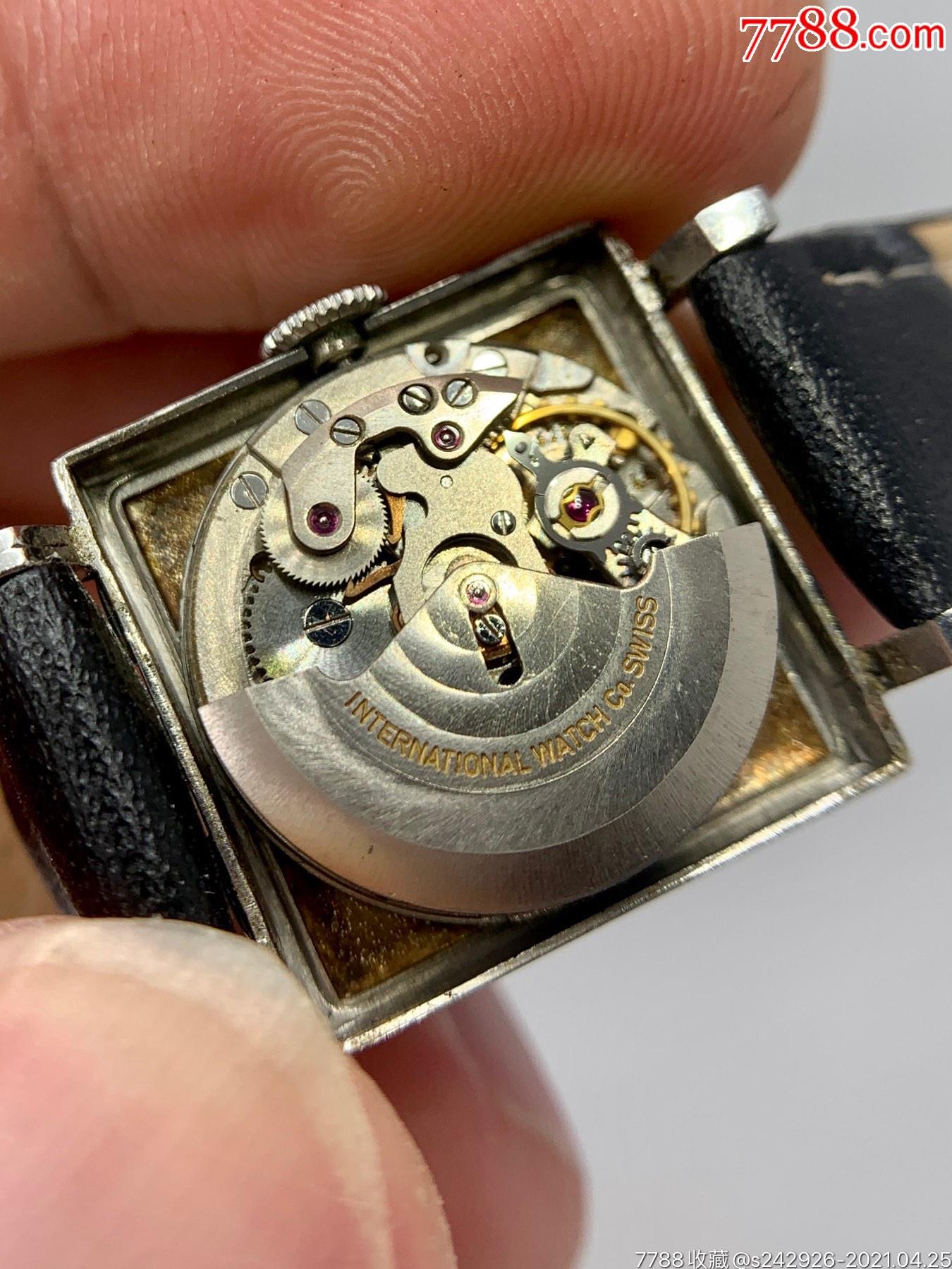 【萬國iwc】全自動機械手表雙金頭啄木鳥機芯_價格1039元_第7張_