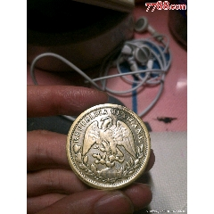 一個錢幣鷹洋含銀