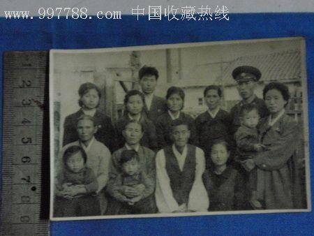 朝鲜家庭-au1401899-老照片-加价-7788收藏__中国收藏