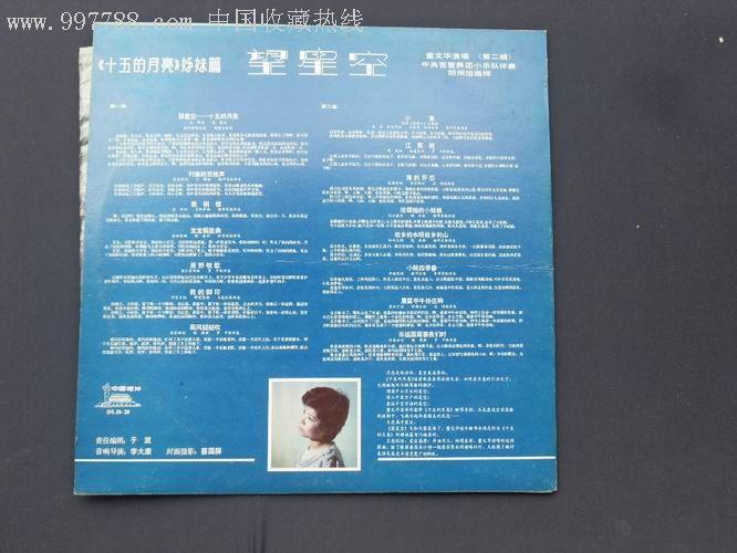 董文华——望星空图片