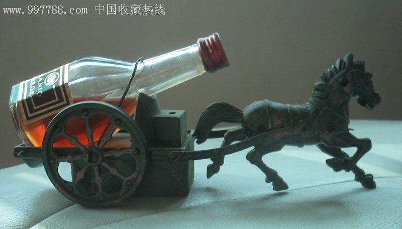 人头马酒+马车