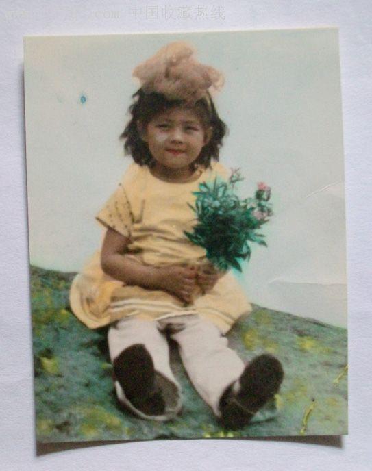 祖国的花朵---可爱的小女孩图片
