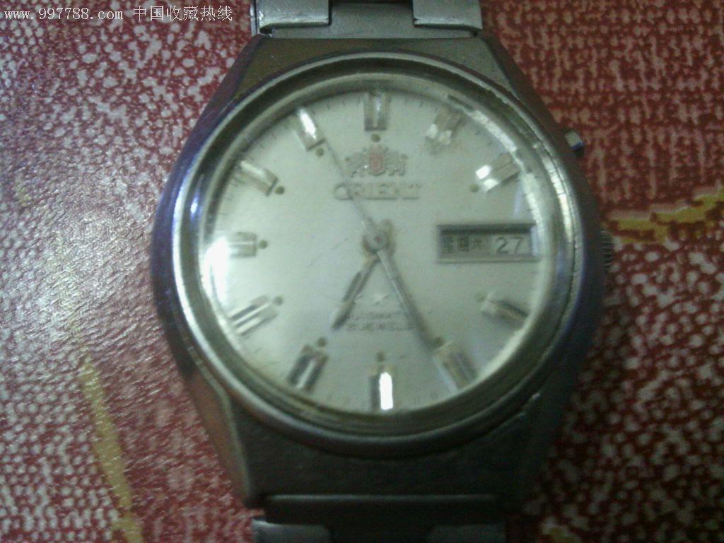 朋友带回来的手表,日本双狮的.不知道型号,求大神能帮忙看看图片