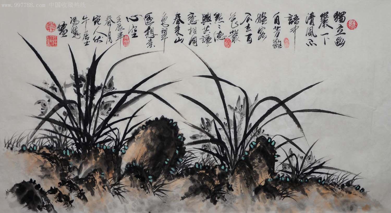 国画兰花_国画-兰花-2012-0328-46_第1张