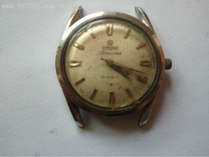 瑞士titoni梅花表(上链),-au3148196-手表/腕表-加价图片