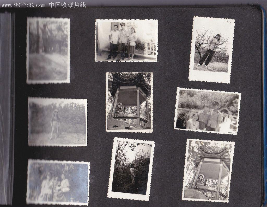 80年代唐國強封面相冊一本含女青年個人照片等50多張圖片