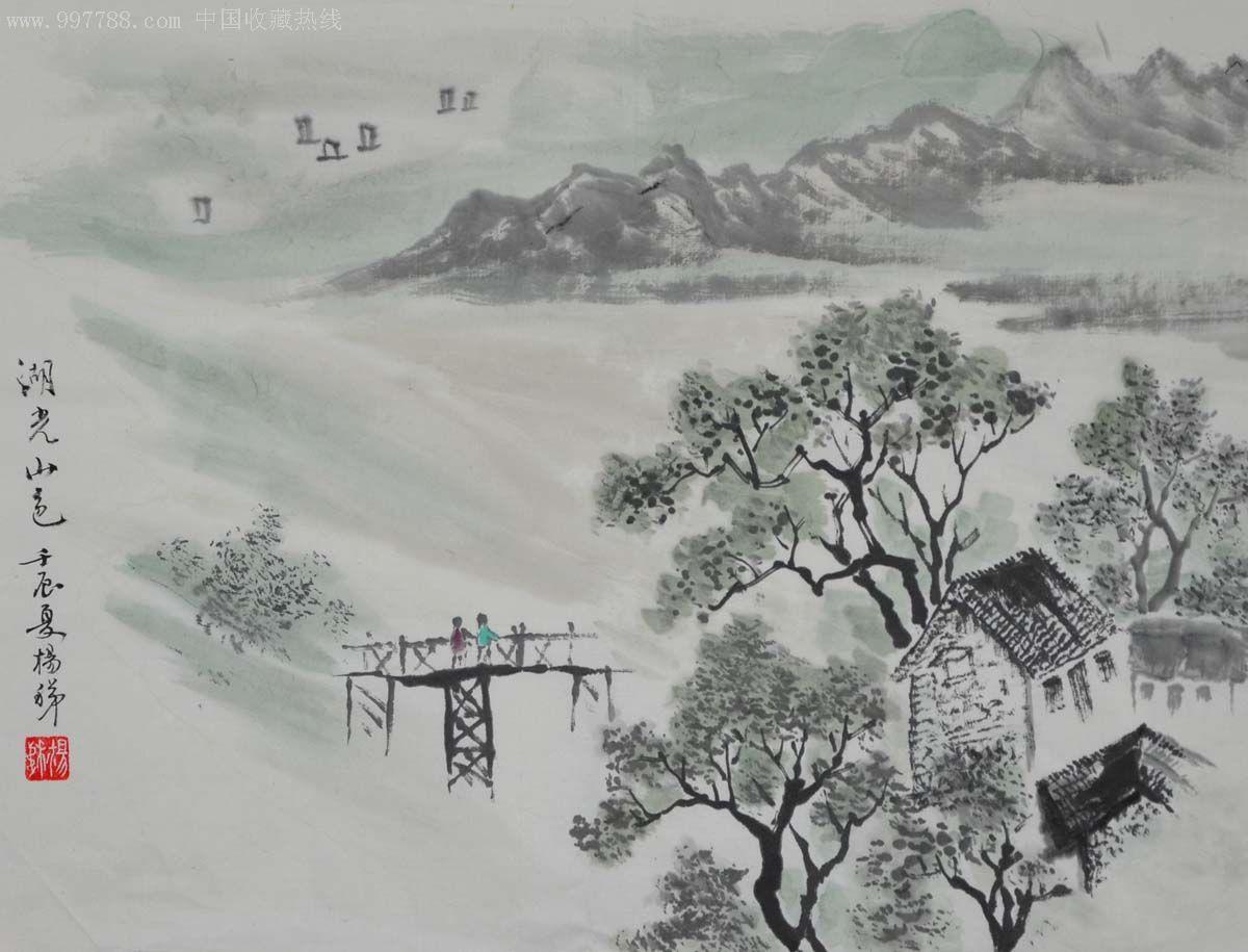 国画小品_国画山水小品-2012-0701-69