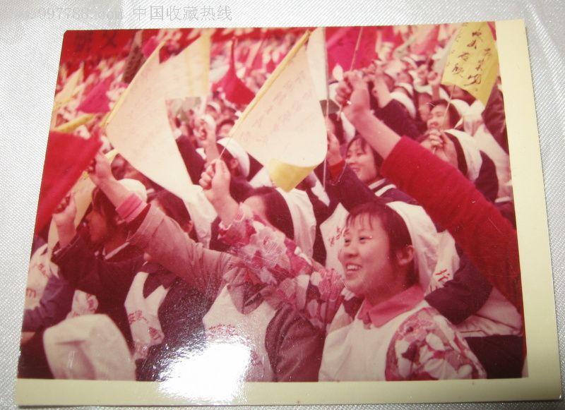 70年代彩照--西安市第一丝绸厂女工