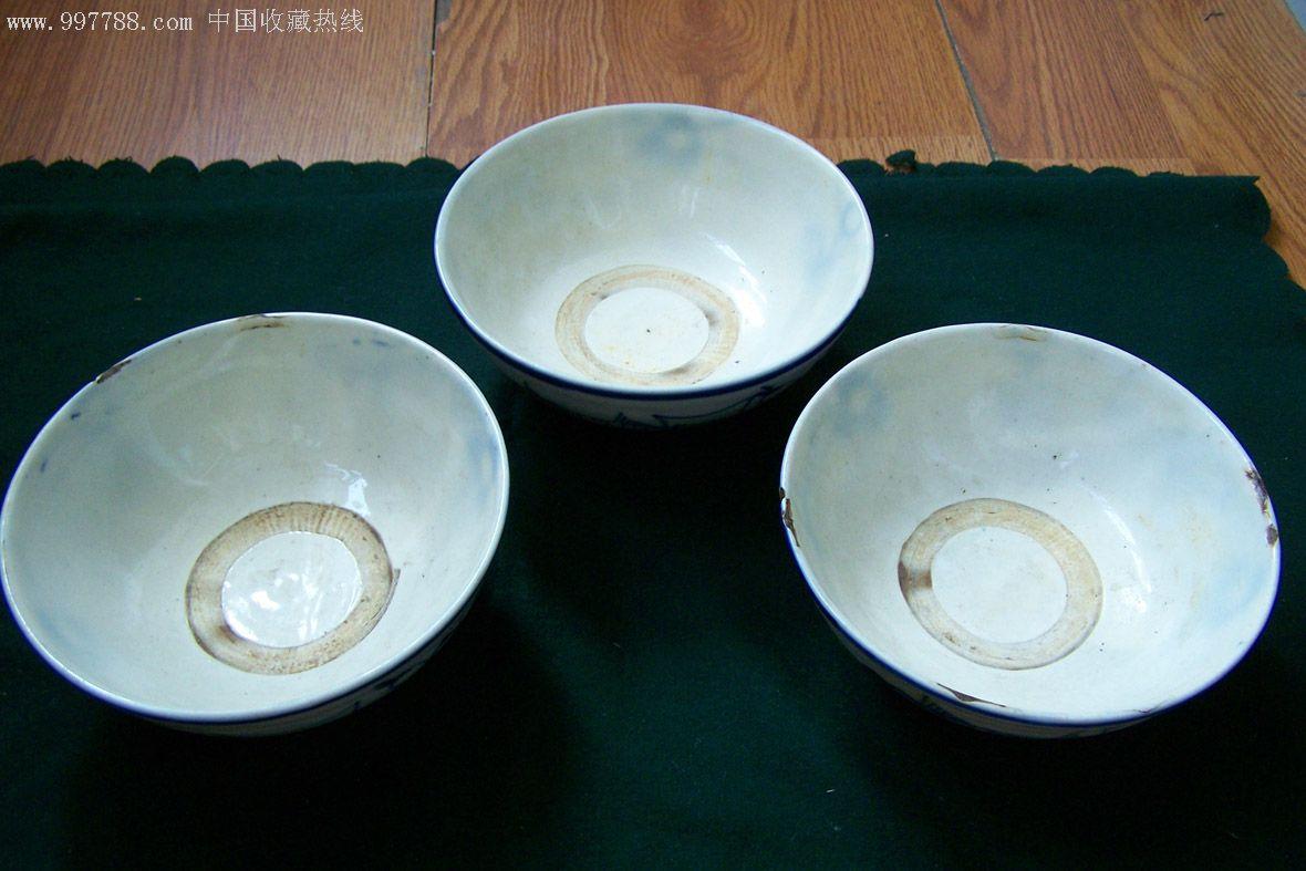 青花瓷碗——较大号(清末民初时期)图片