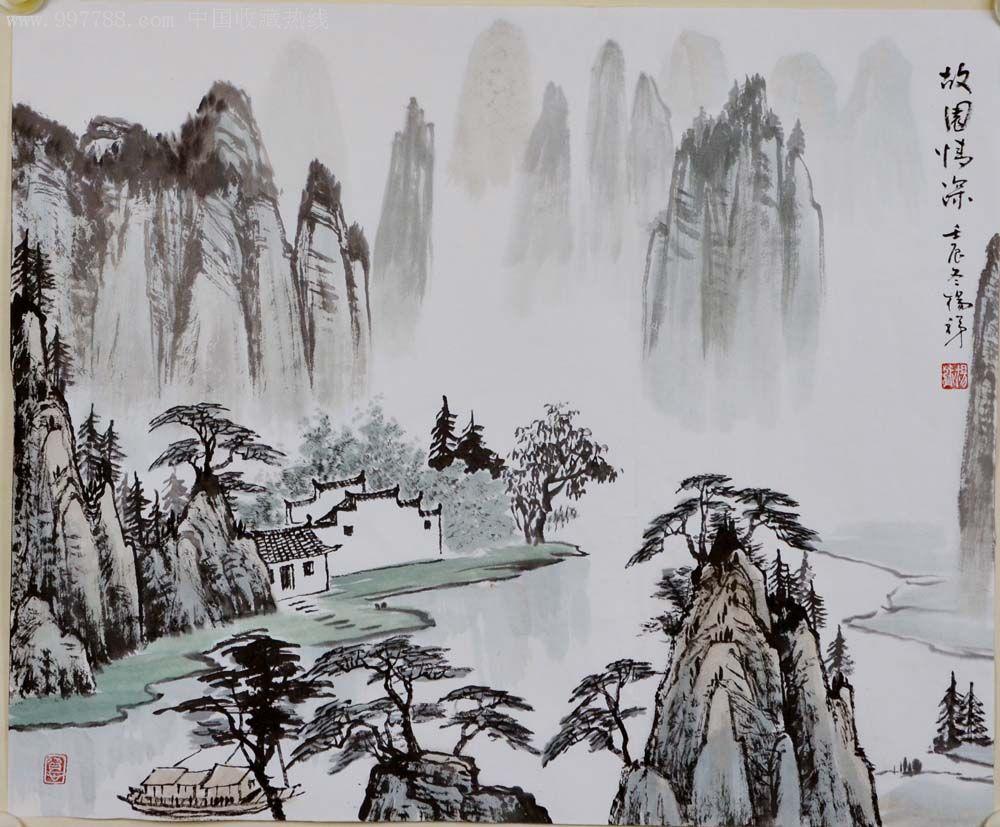 国画山水_国画山水-2012-1114-02