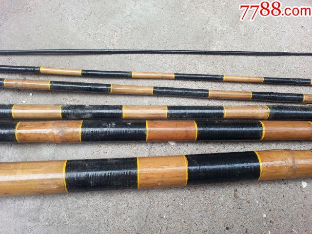 六节竹子鱼竿(三天快拍)