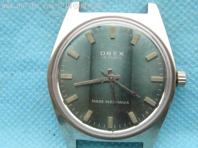 天津手表厂公交站_罗马尼亚在天津手表厂专门订做的--\'orex\'牌手表