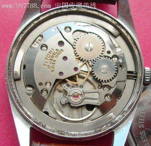 瑞士titoni梅花2750手表图片