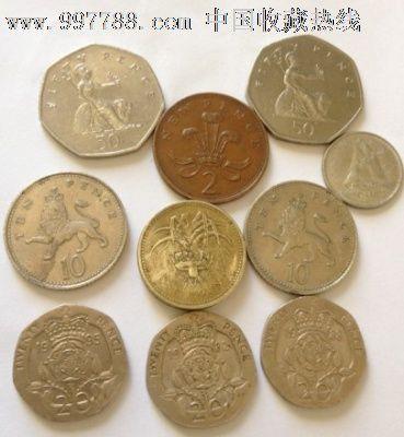 英镑2硬币图片大全 英镑硬币图片及价格图片