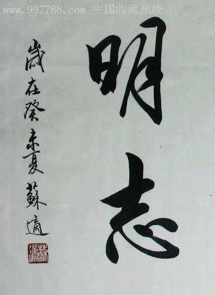 """中国书法协会会员,中国书协北京分会副秘书长""""苏适""""书法作品图片"""