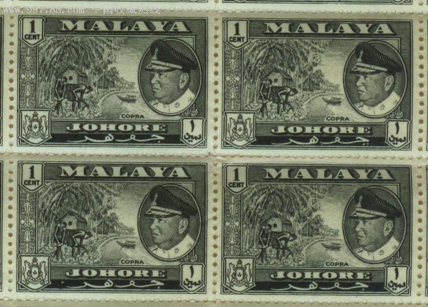 马来西亚柔佛州1960年