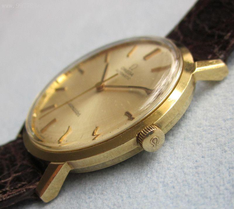 瑞士omega欧米茄18k实金海马系列超薄自动表-se-手表图片