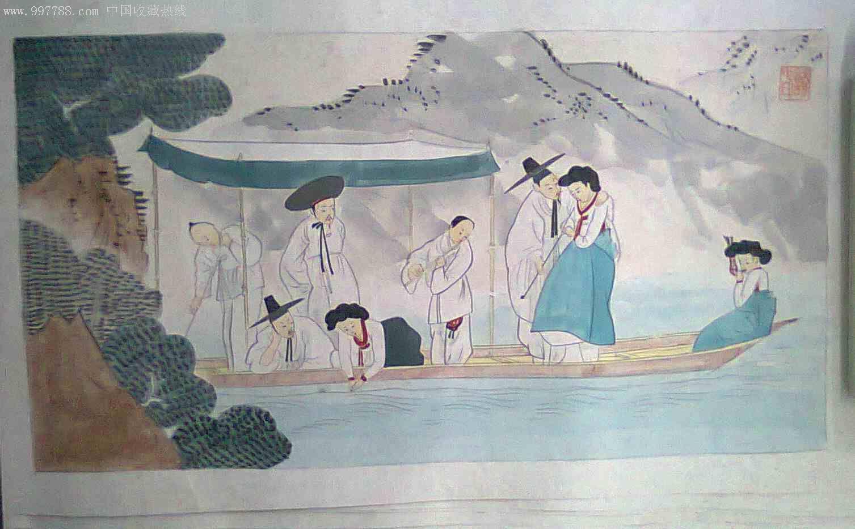 画朝鲜古代人物画我的电话13845993982qq:26814198_第1张_7788收藏图片