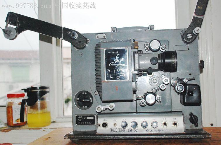 灰色调的怀旧型16毫米长江胶片老式电影放映机f16-4图片