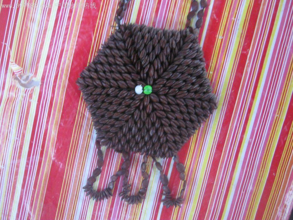 西瓜子挂包颈饰