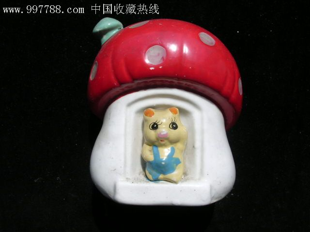 红顶屋子陶瓷储蓄罐(se11198161)_